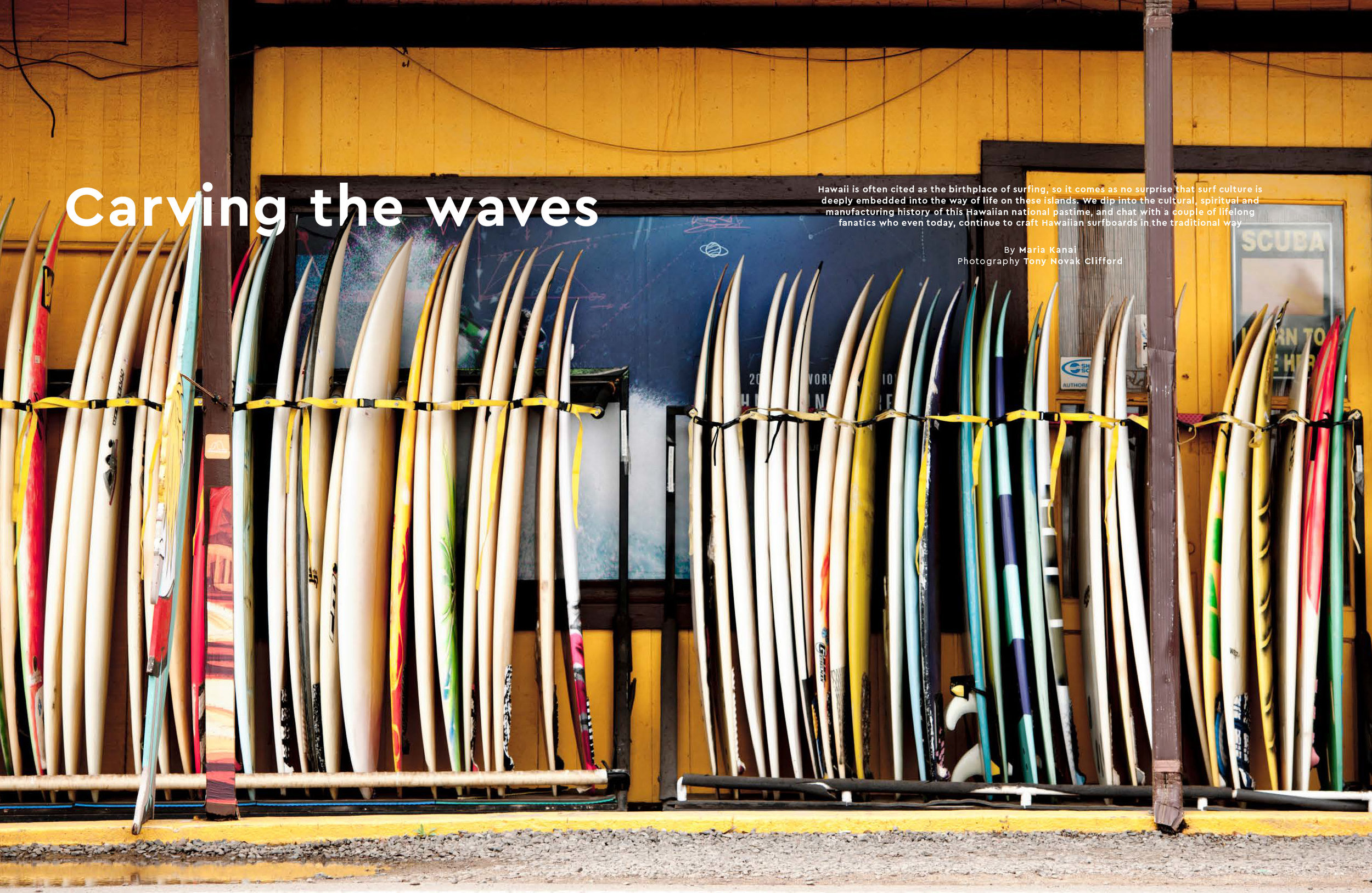 Mabuhay - FEATURE - Carving The Waves