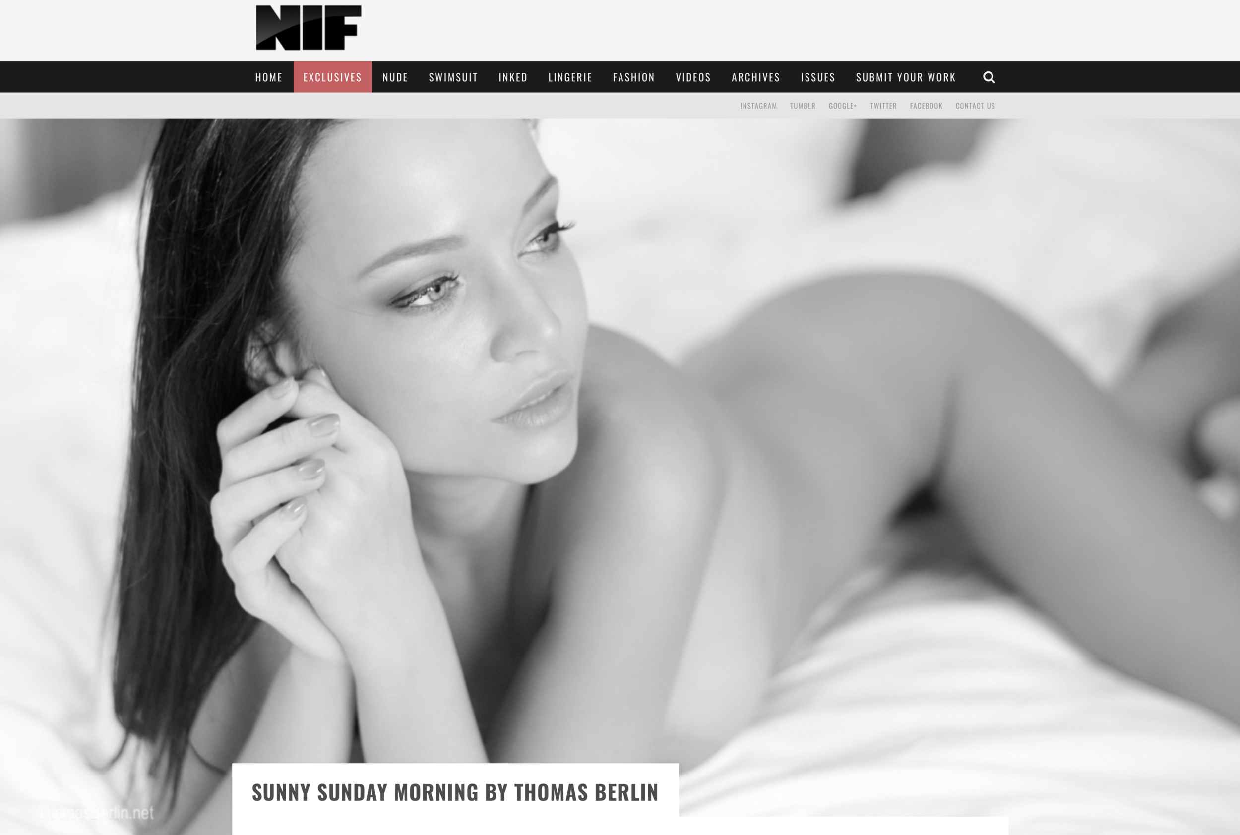 Thomas Berlin published in NIF Magazine Jan. 2018