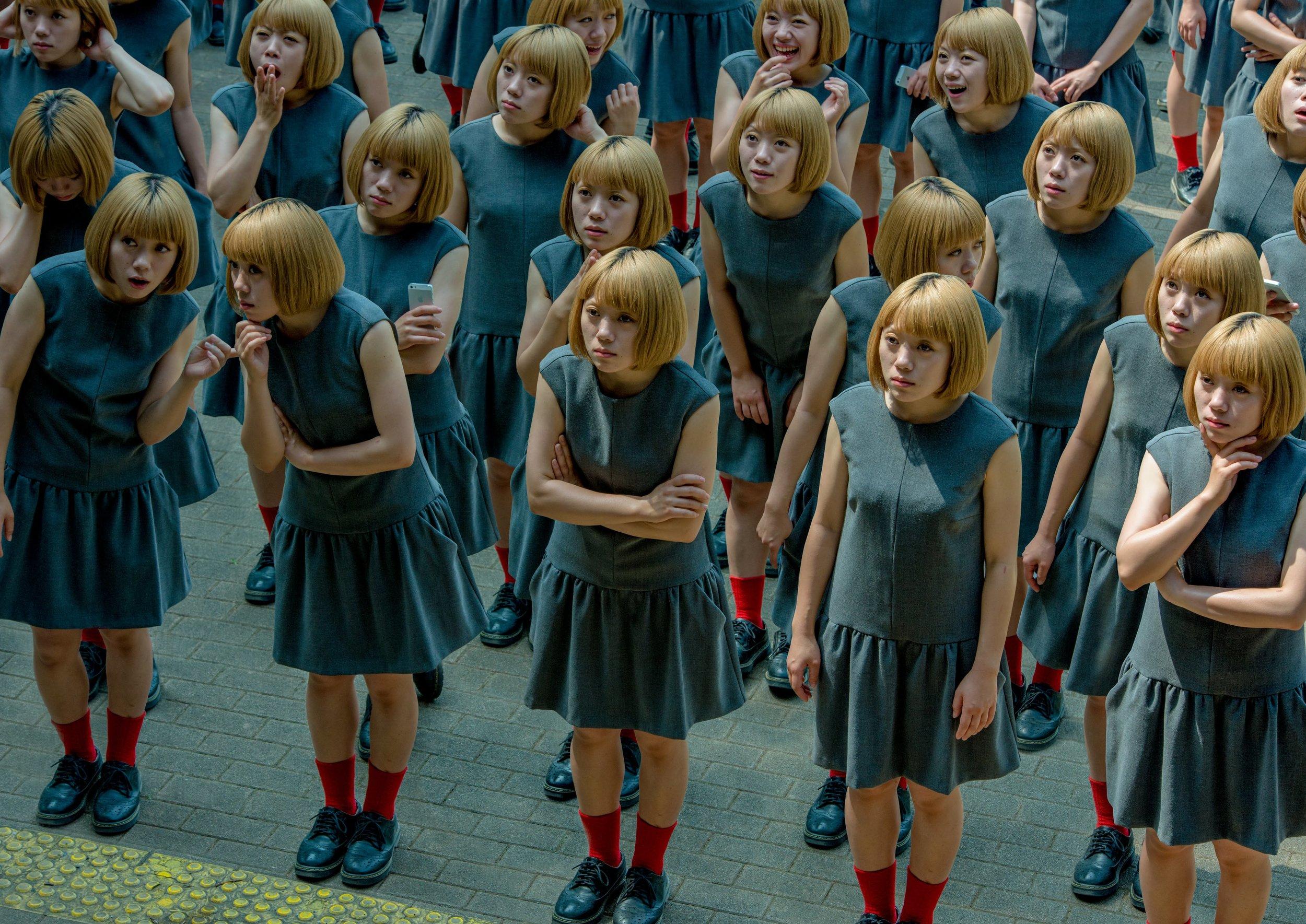 © Daisuke Takakura; Monodramatic / Crowd, 2014, Digital C-type print , 42 x 59.4 cm Ed. 10, 145.6 x 103 cm Ed. 5