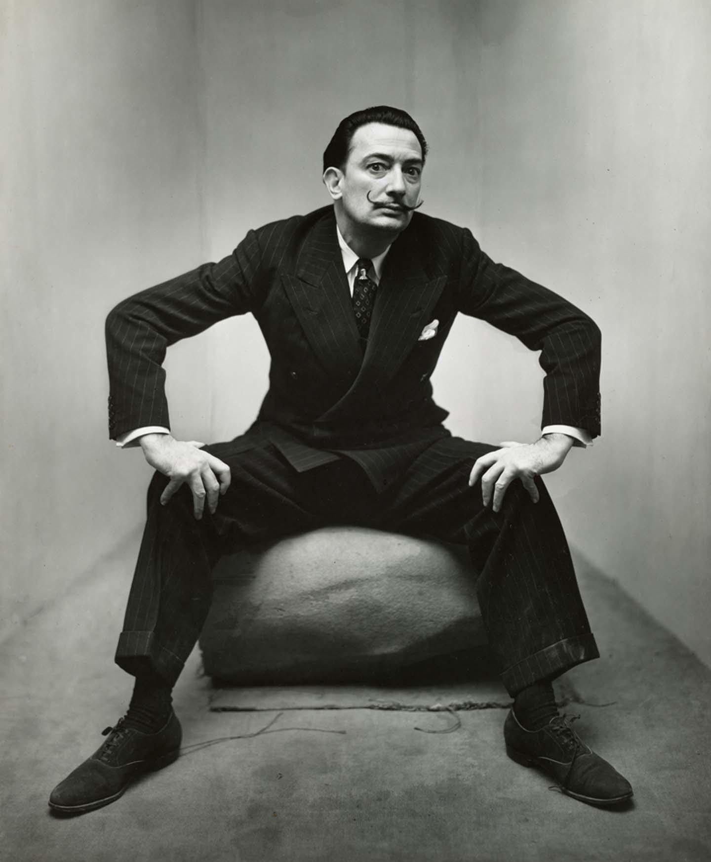 Salvador Dalí,, New York, 1947, © The Irving Penn Foundation