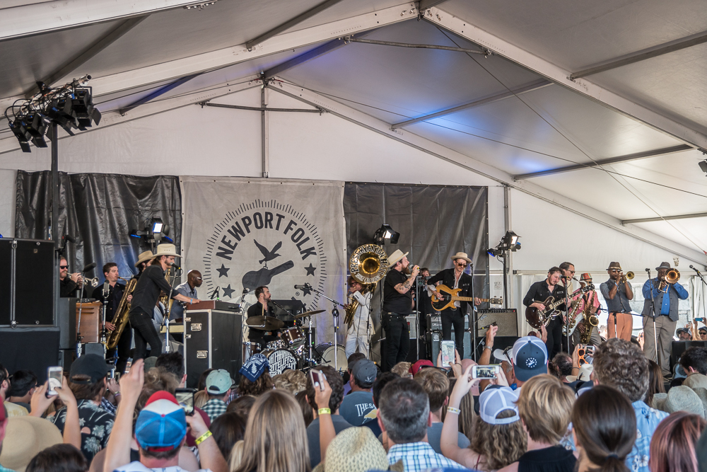 Nathaniel Rateliff and the Night Sweats with Preservation Hall Jazz Band