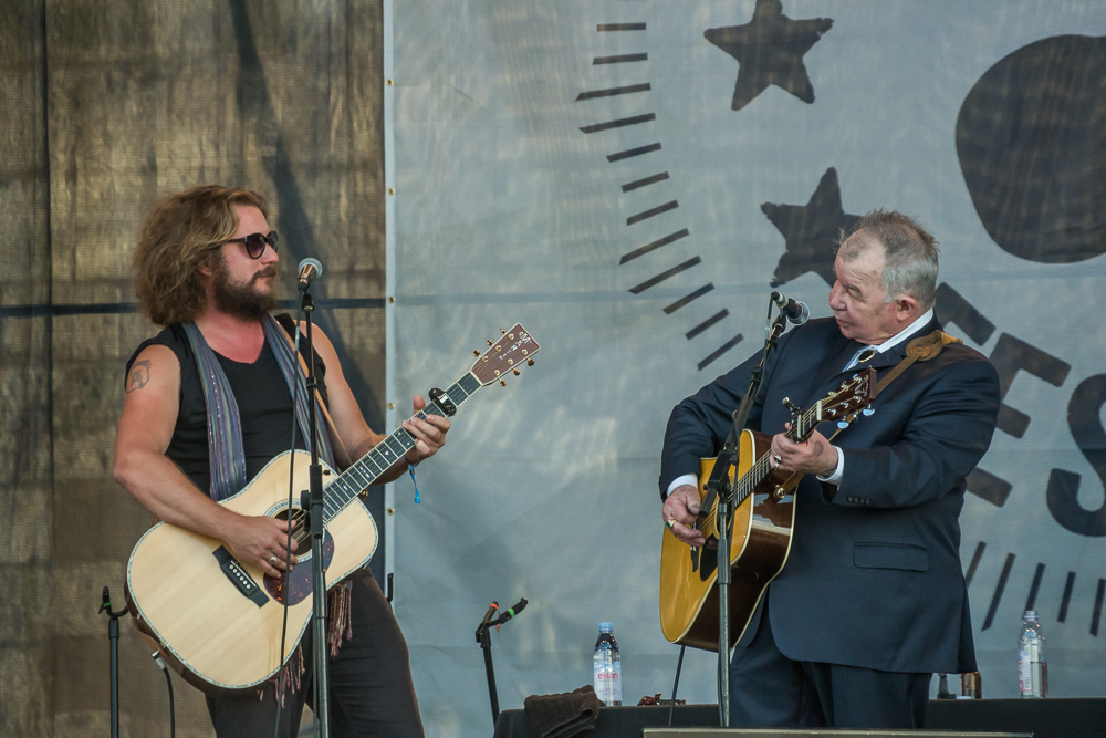 John Prine and Jim James