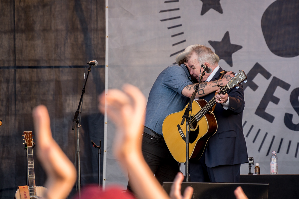 John Prine and Nathaniel Rateliff
