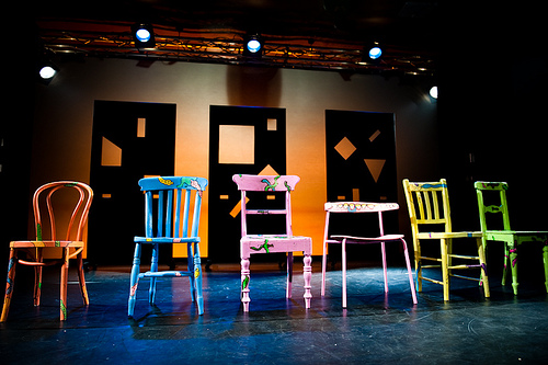 APPLES STAGE SET (photo by Topher McGrillis), 2010