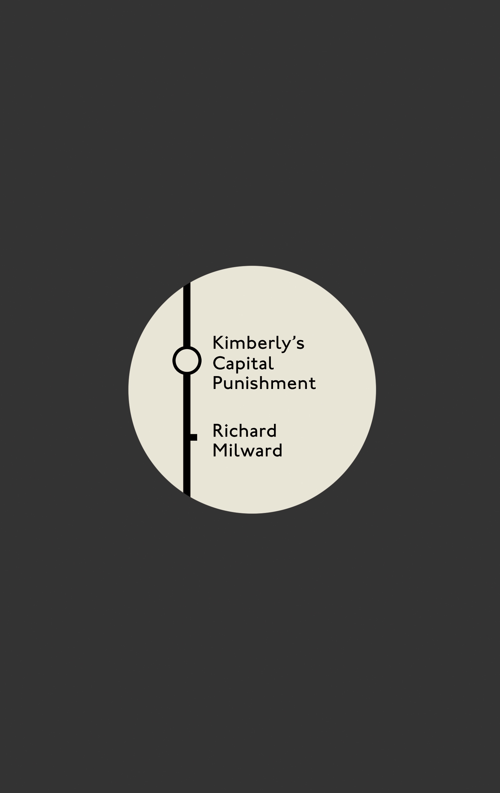 KIMBERLY'S CAPITAL PUNISHMENT (FABER, LIMITED EDITION)