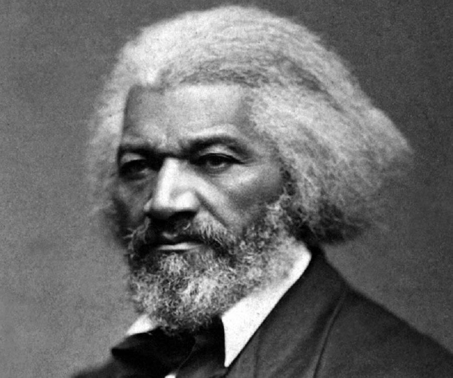 Frederick Douglass, Abolitionist, b. 1818 - d. 1895
