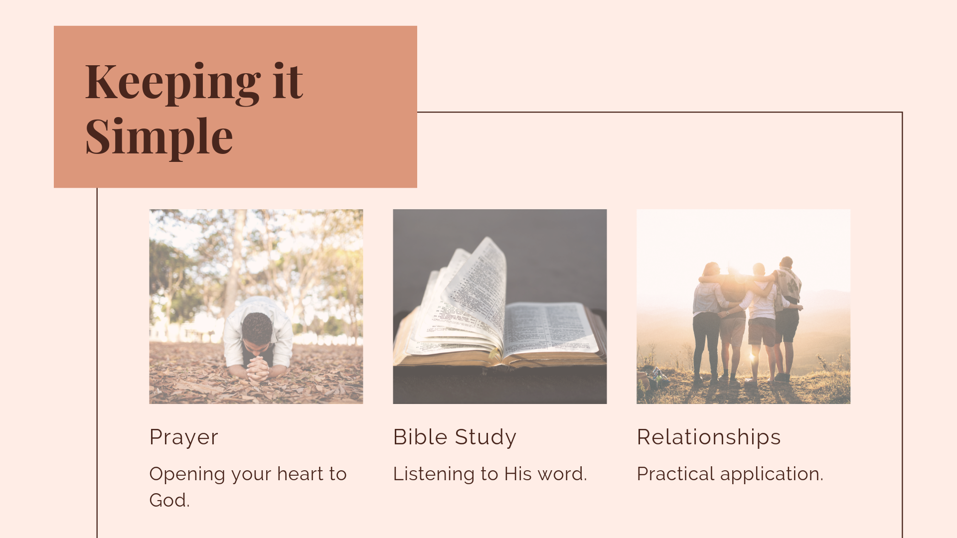 Tips for Personal Spiritual Growth — Pr  Marlon's Blog