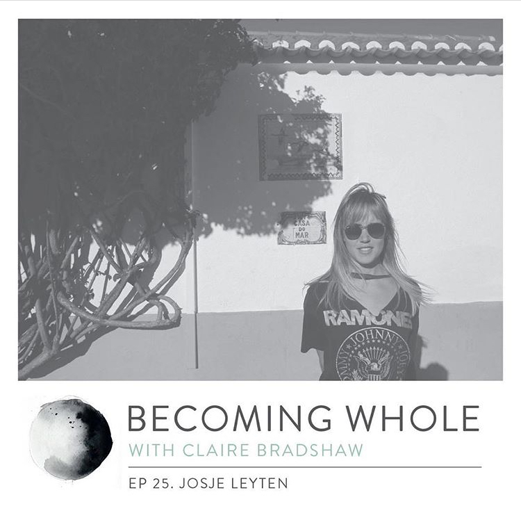becoming whole with claire bradshaw - Ep #25 Going with the flow w/ Josje LeytenIn this episode I speak with Josje Leyten, a New Zealand born visual artist, creative, storyteller and sailor. She has an incredible story that's involved following her intuition at a young age and and has led to her heading on incredible adventures across the world. After having sailed over 40,000 nautical miles across multiple oceans, she now has land legs and travels around Australia creating art and videos along the way with the intention to cultivate creativity and connection.Hear about the events that led to Josje spending 4 years on a sailing boat across the PacificThe inner experiences that Josje felt into whilst being surrounded by the ocean and away from the distractions of daily lifeThe experience of transitionary periods in life, what they teach us and how we can grow from them