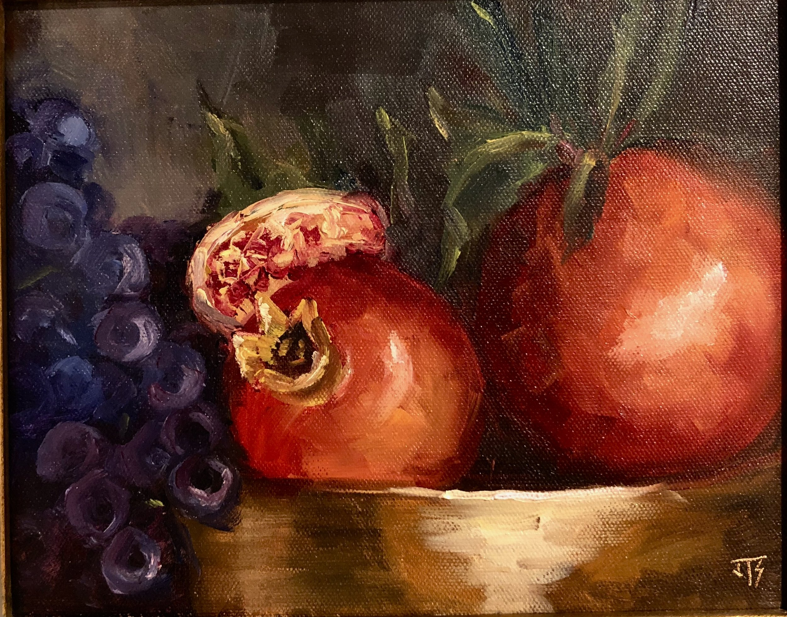 Grapes And Pomegranate