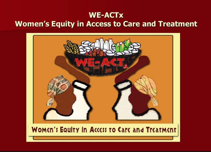 WE-ACTx: Women's Equity in Access to Care and Treatment