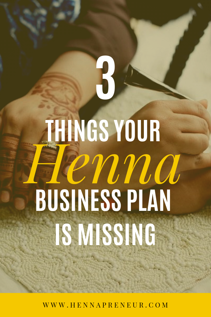 henna business plans