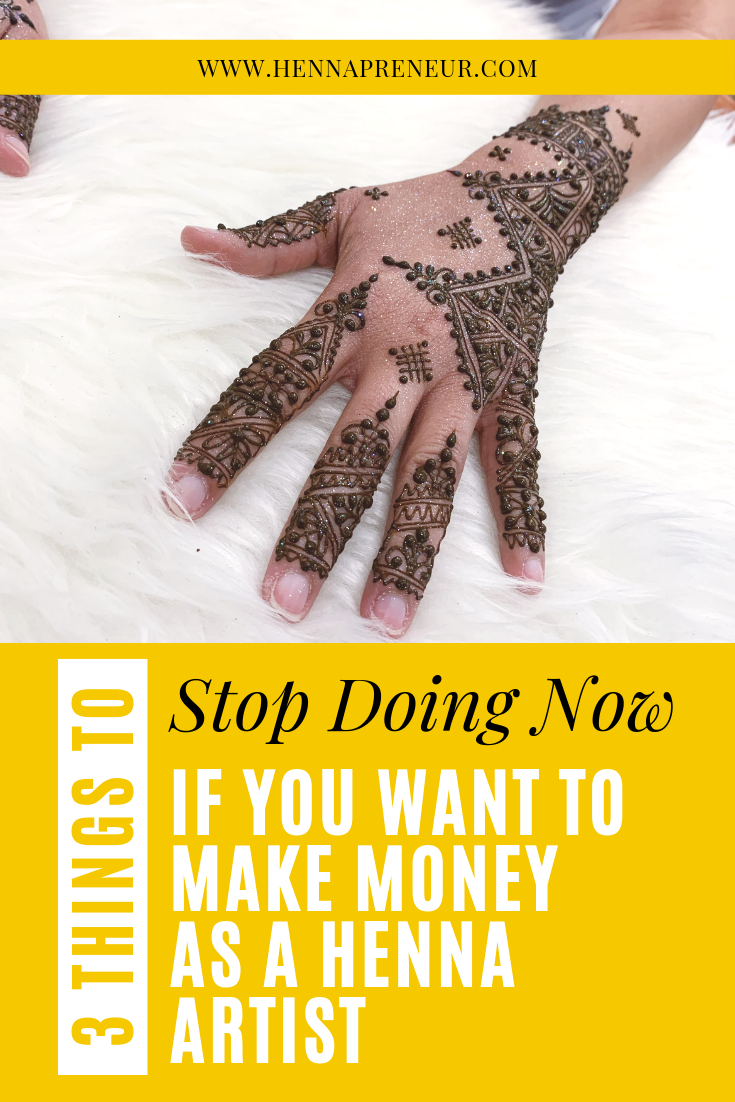 how to start a henna business