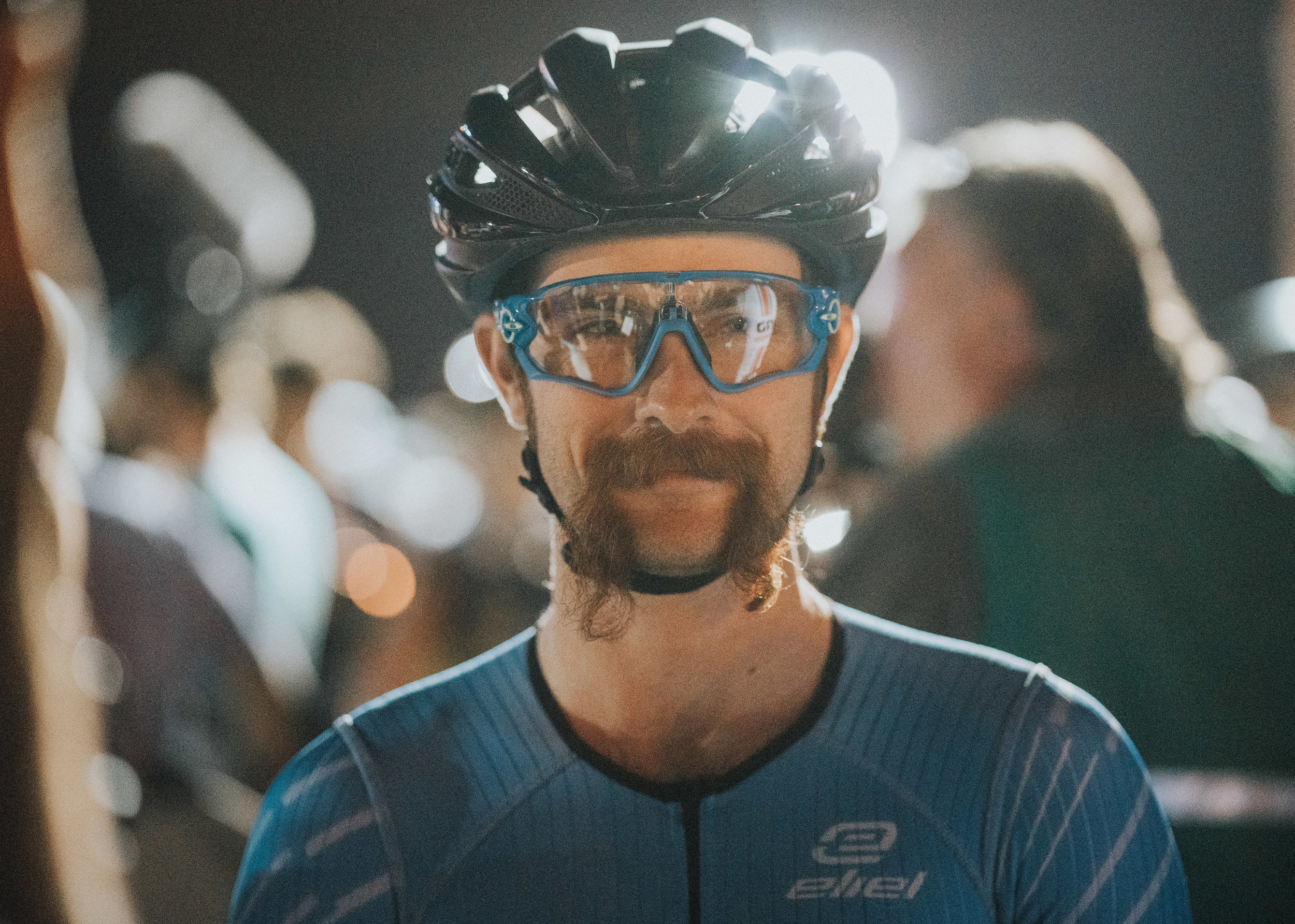 That is the smile of a man that likes to win bike races