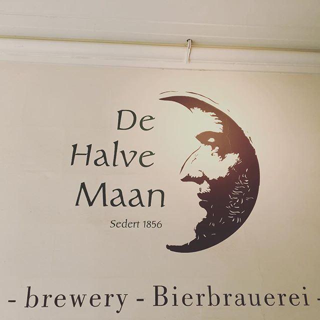 The growth of the 500 year old De Halve Maan brewery was becoming a problem for the city of Bruges.  So rather than relocate the brewery, they built a 2 mile underground pipeline to take the beer from the city center, to a bottling plant just outside the city. #brugge #bruges #belgium #belgianbeer  @bastien_dehalvemaan