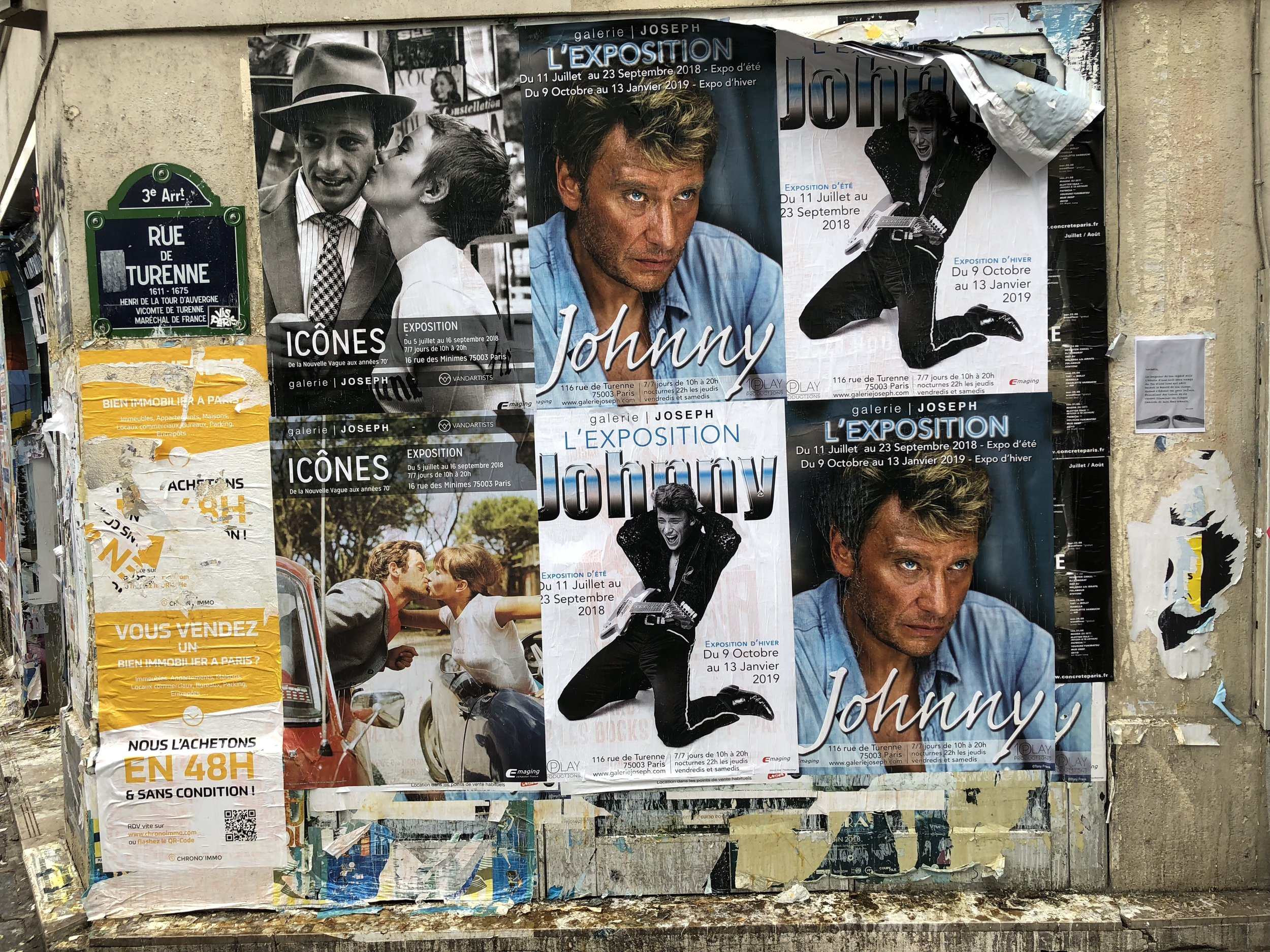 Copy of Wall Covered with Posters