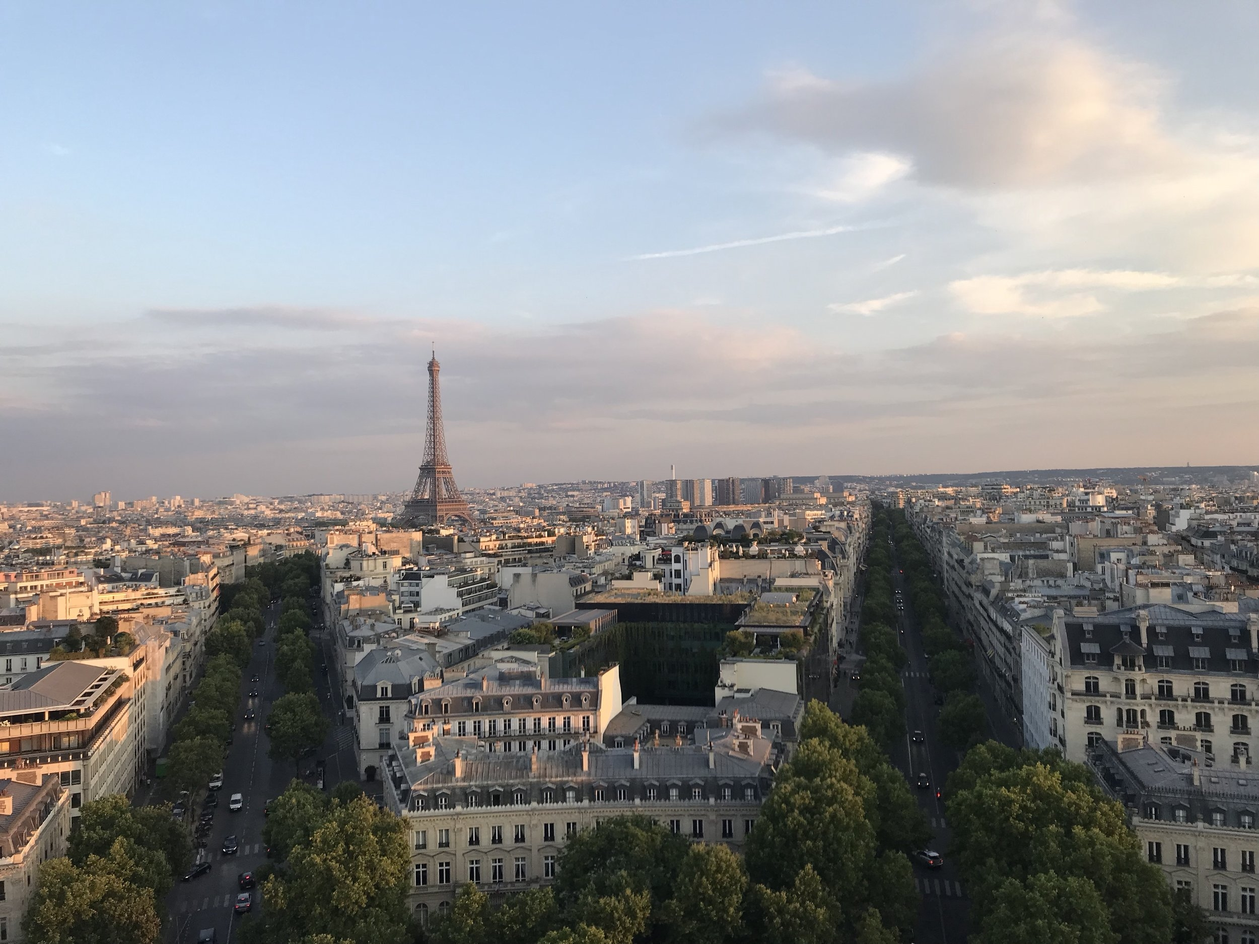 Copy of View from the Arc de Triomphe