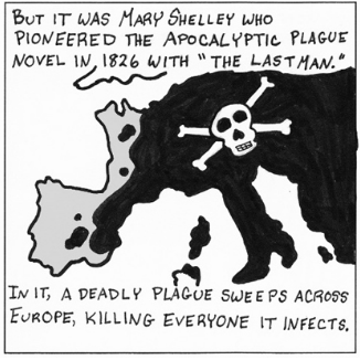 The Webcomic Guide to the Apocalypse (2013) - This is a series of short comics I posted on io9 about early apocalyptic fiction.