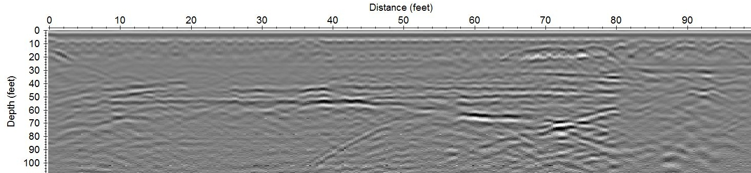 Relic ground-penetrating radar data