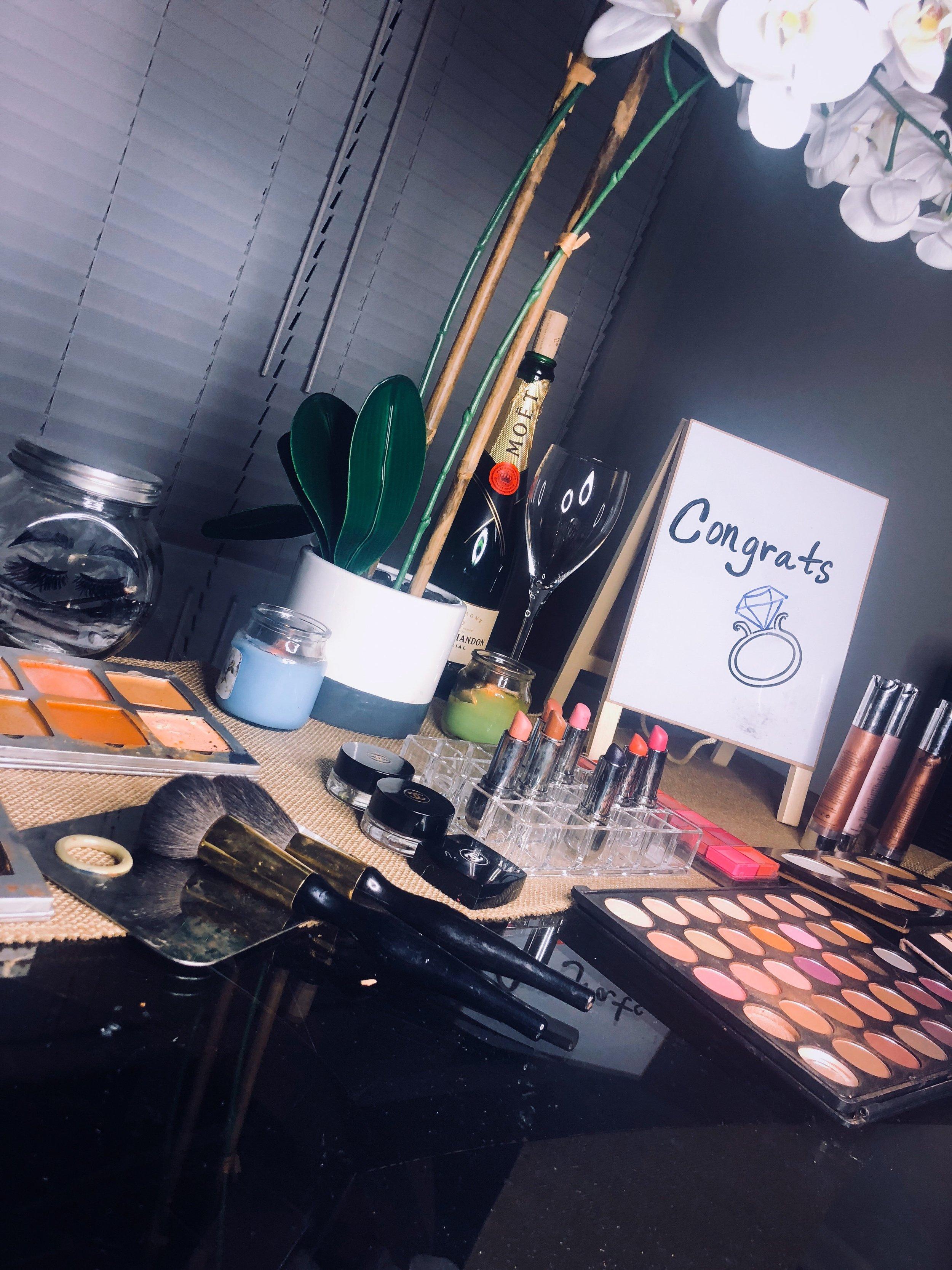 Bridal Makeup Appication -