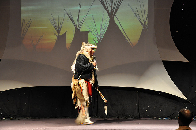 Presenting the Gospel through Native Story Telling and Dance