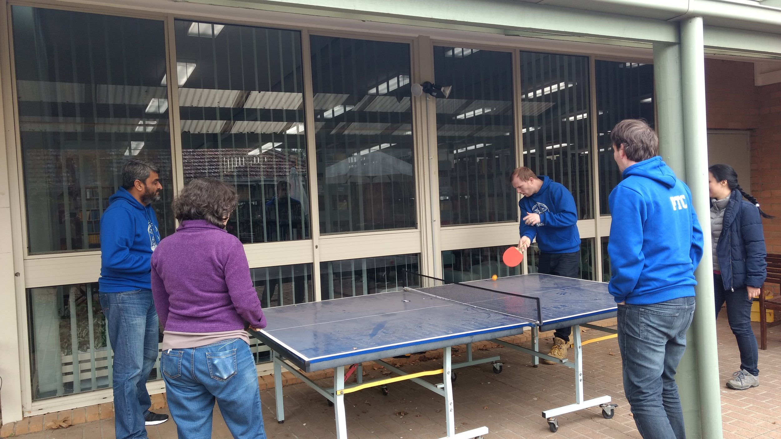 jpf students table tennis