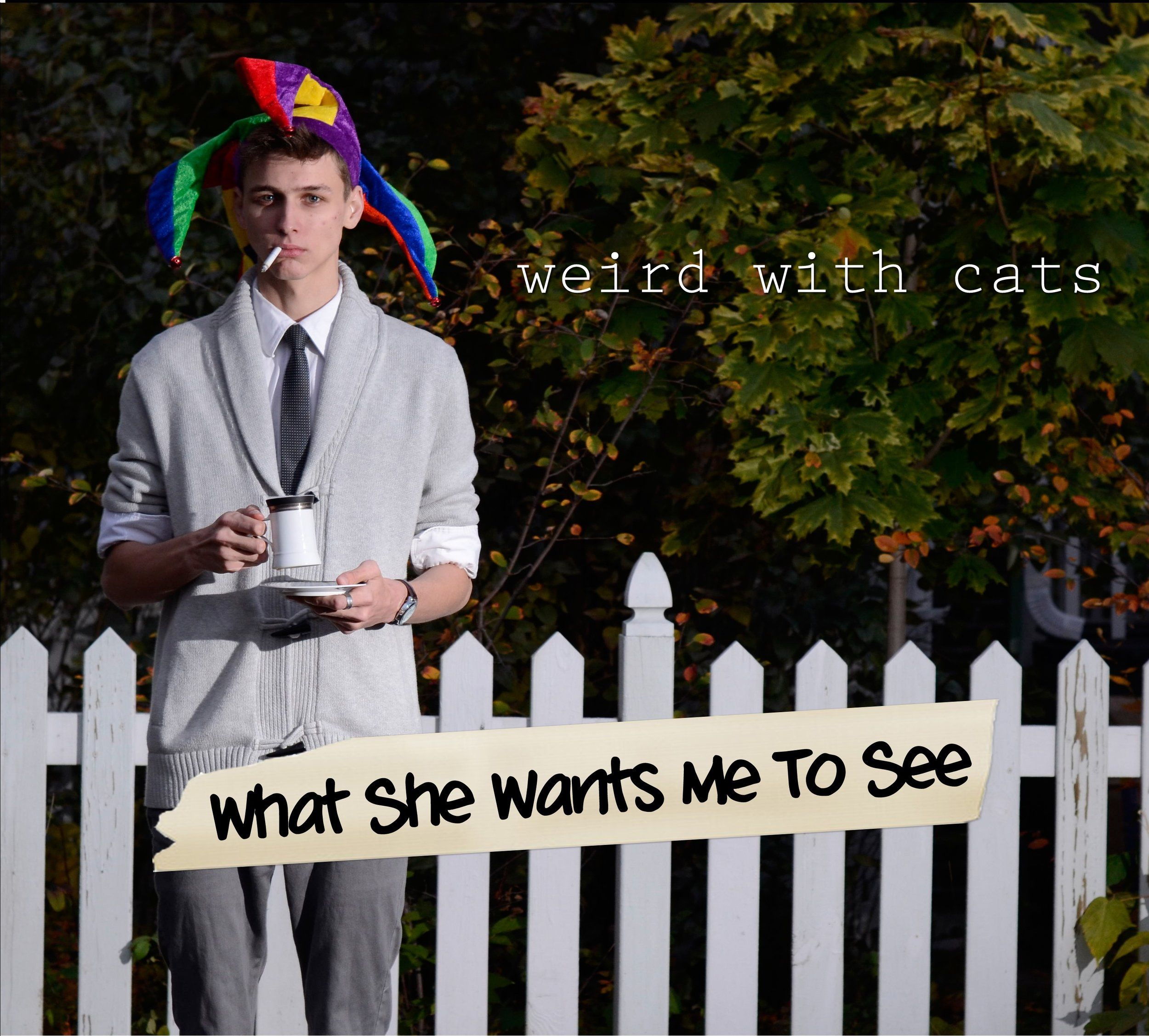 What She Wants Me To See - Weird With Cats