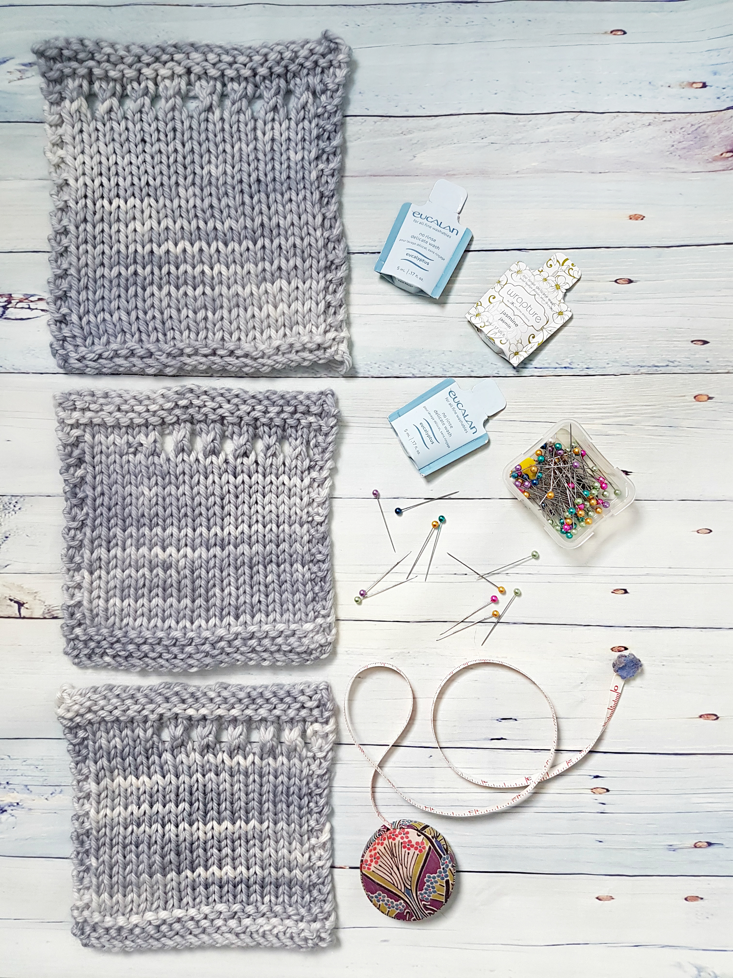 Gettign Gauge: Swatching Tips and Tricks | Delicious Yarns