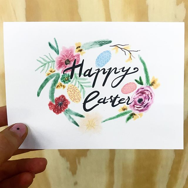 Happy Easter! 🐥 Just a reminder we're closed tomorrow for Good Friday, and back open as usual 10-5, Saturday and Sunday. It'll be a lovely weekend in Freo, come and stop by MANY while you're here. This card is one of the great new designs by @dylanspringsdesignemporium - now in store ✨ #freo #fremantle #retail #shopping #illustrator #illustration #easter #many2 #manyprojects #shoplocal