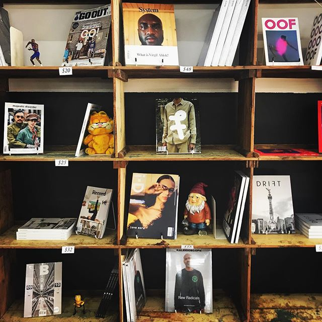 MANY 2.0 (almost definitely)  has WA's best selection of magazines right now. @neighbourhoodpress, @kateandabelperth and @fenwick.common have a huge variety of titles - and @pulp_flicktion, pictured here - has an incredible list of specialist mags. Come while away some time and check them out, 10-5, Thursday to Sunday 📚 #freo #fremantle #magazines #books #zines #specialistmagazine #many2 #manyprojects #supportlocal #shopsmall