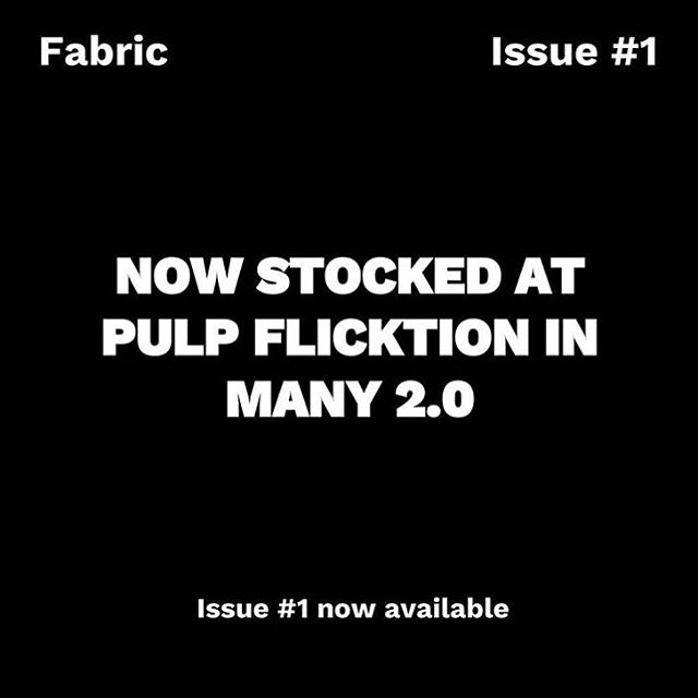Wondering where to get the first issue of @fabricquarterly - the new mag showcasing design, culture and design in WA? Look no further than @pulp_flicktion in @fenwick.common 👀✔️Open Thursday to Sunday, 10-5. Pop in! #freo #fremantle #many2 #manyprojects #perth #magazine #westernaustralia #fabricquarterly #shoplocal