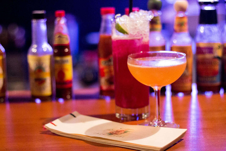 Cocktails At Jack Rose