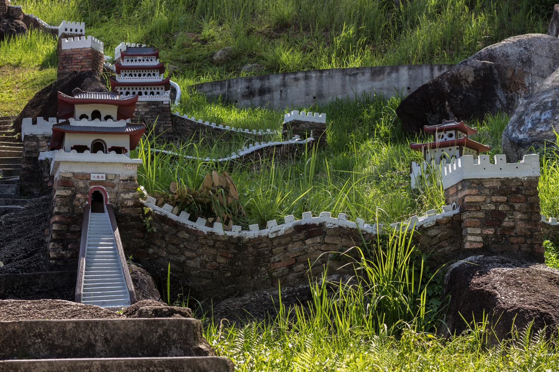 Mini-Great Wall Of China Fu Lin Kong Temple