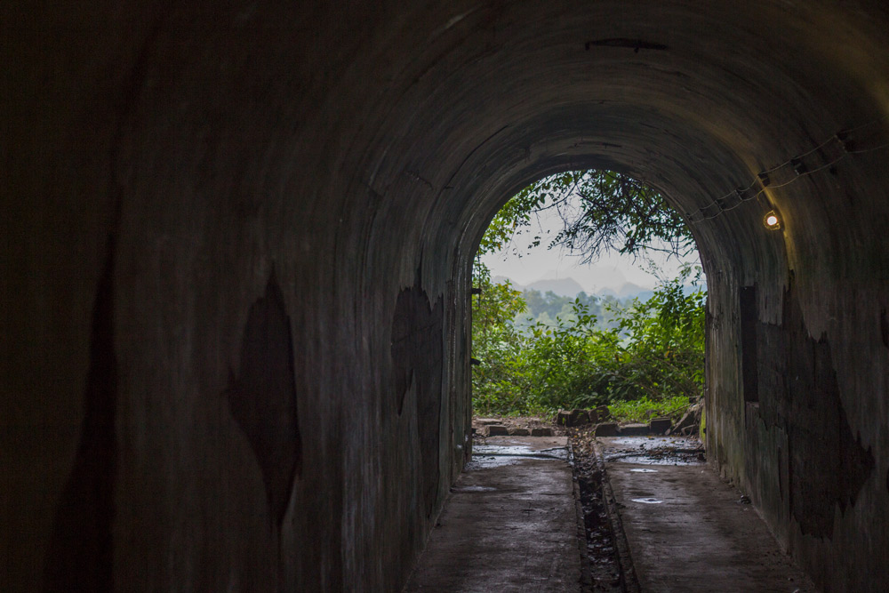 Tunnels in the Cannon Fort