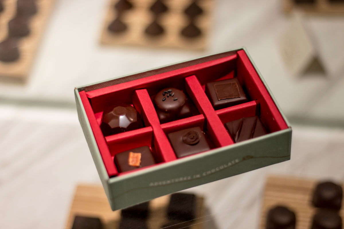 Marou chocolate truffles