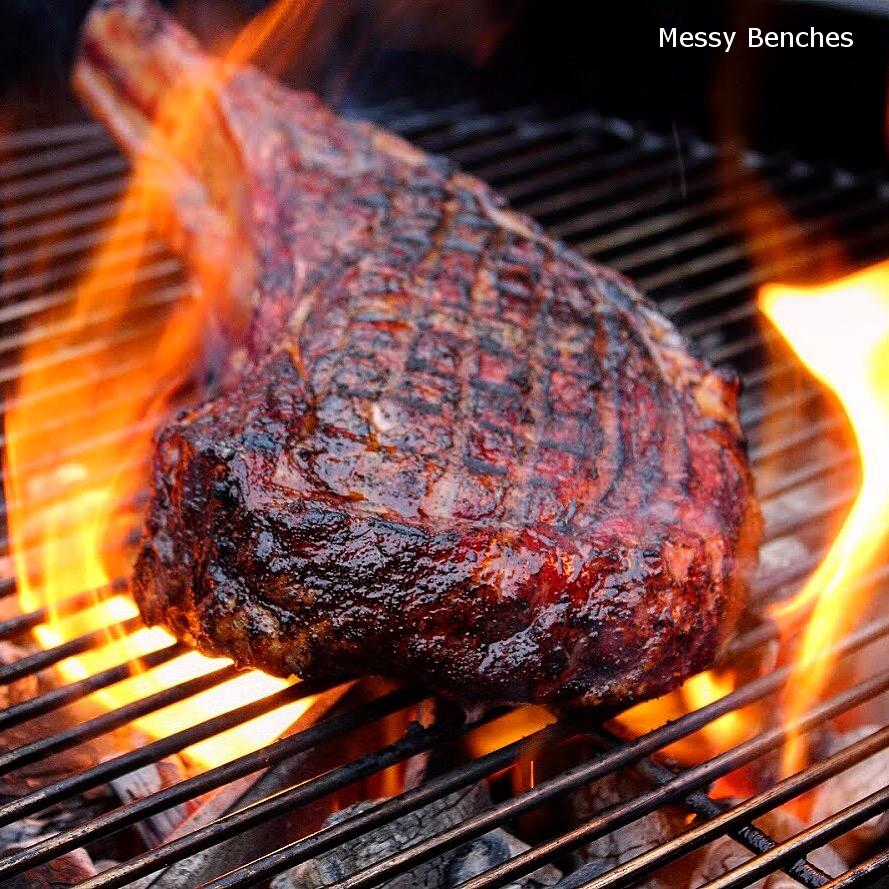 Reverse Seared Steak