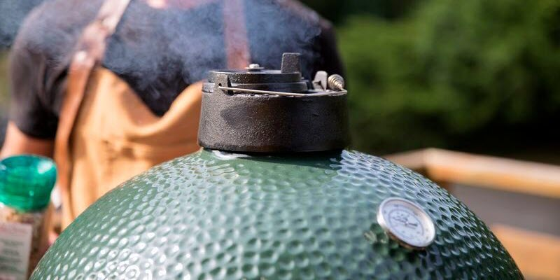 big green egg carousel