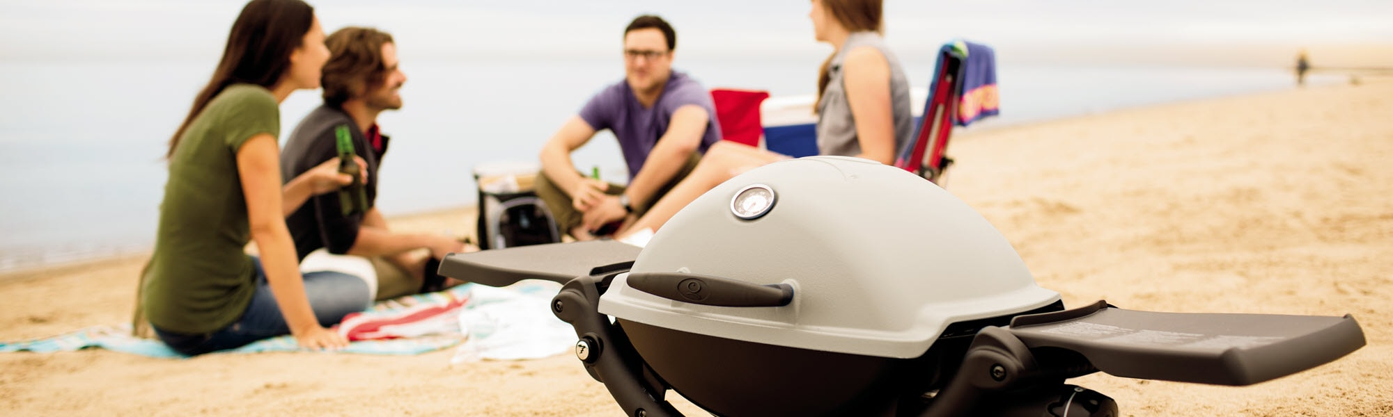 Weber Baby Q BBQ - The Outdoor Chef