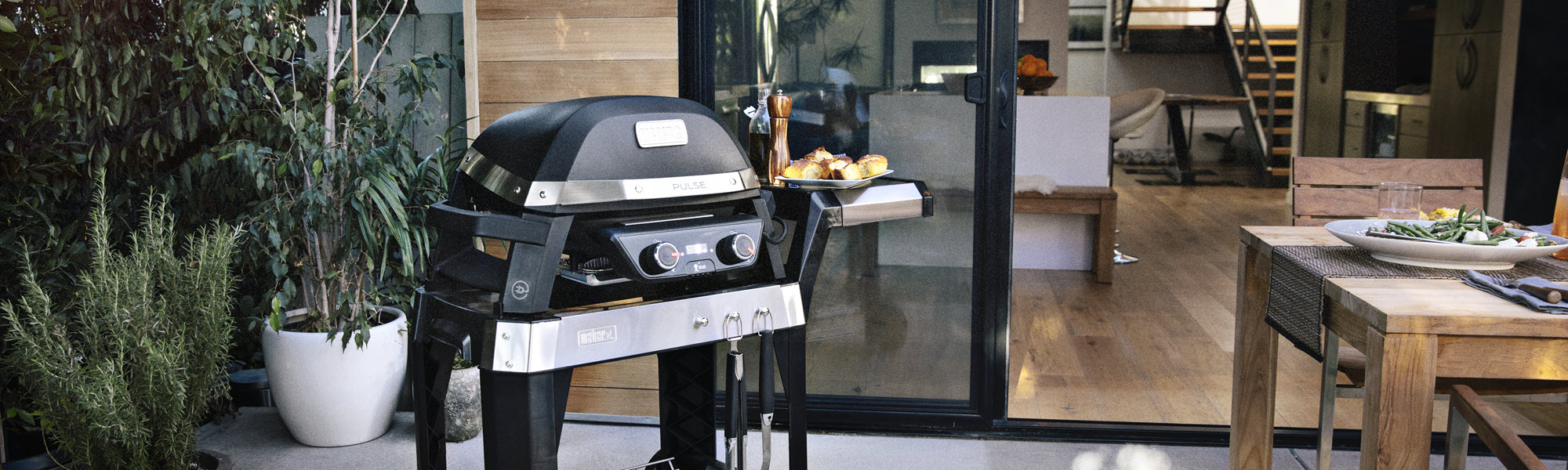 Weber Electric Range Feature