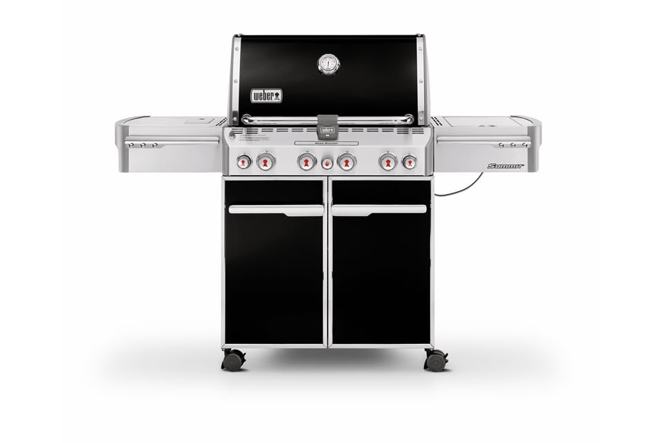 Weber Summit E-470 - The Outdoor Chef