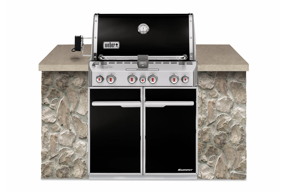 Weber Summit E-460 Built In - The Outdoor Chef
