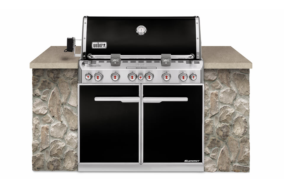 Weber Summit E-660 Built In - The Outdoor Chef