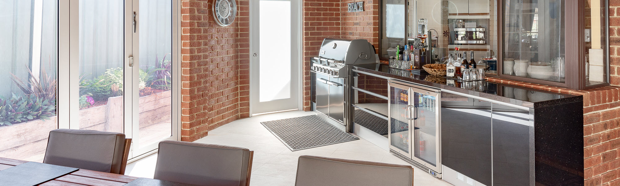 outdoor kitchens perth - the outdoor chef - banner