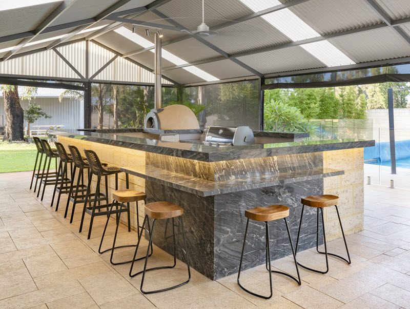outdoor kitchen perth with bar - the outdoor chef.jpg