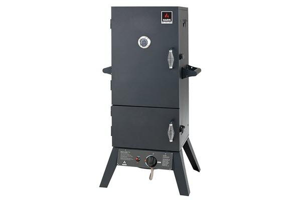 hark 2 door gas smoker