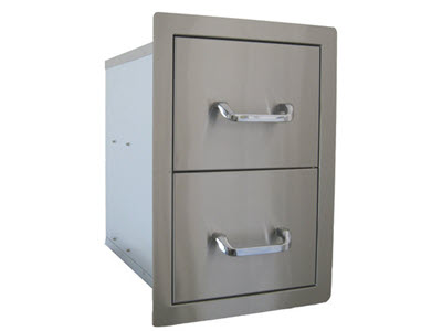 Stainless Steel Double Drawer.jpg