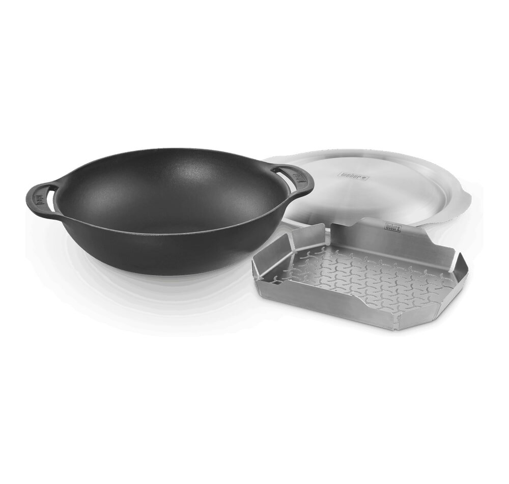Wok Set with Steaming Rack