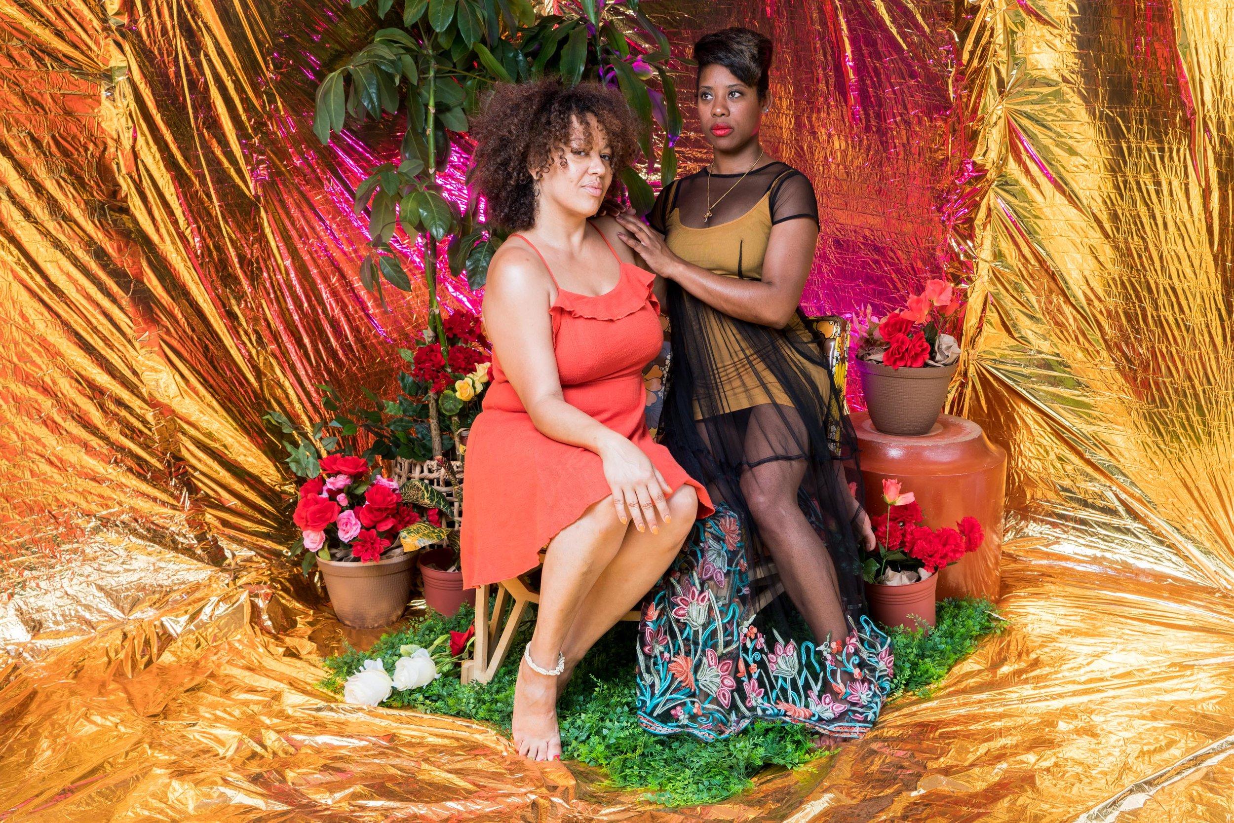 Portraits from  Tiffany Smith 's photobooth at Black Love Fest NY 2019.