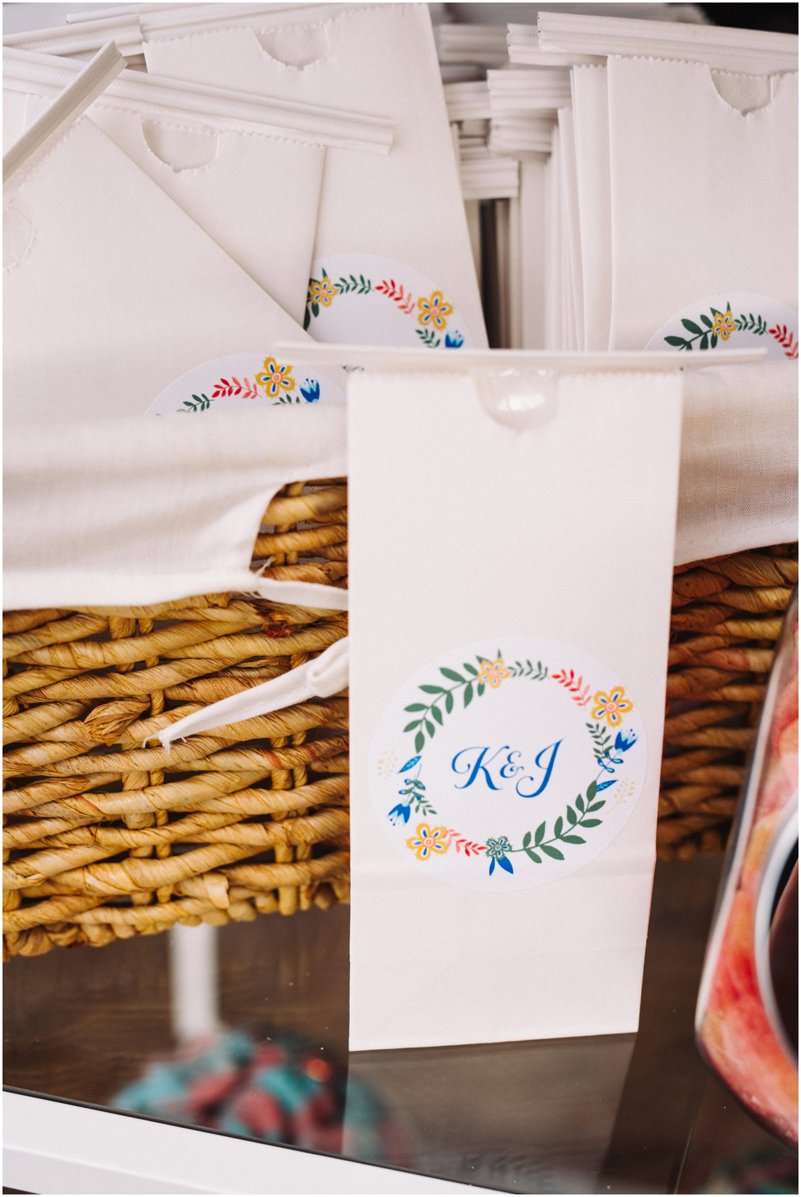 Wedding favor gift bags