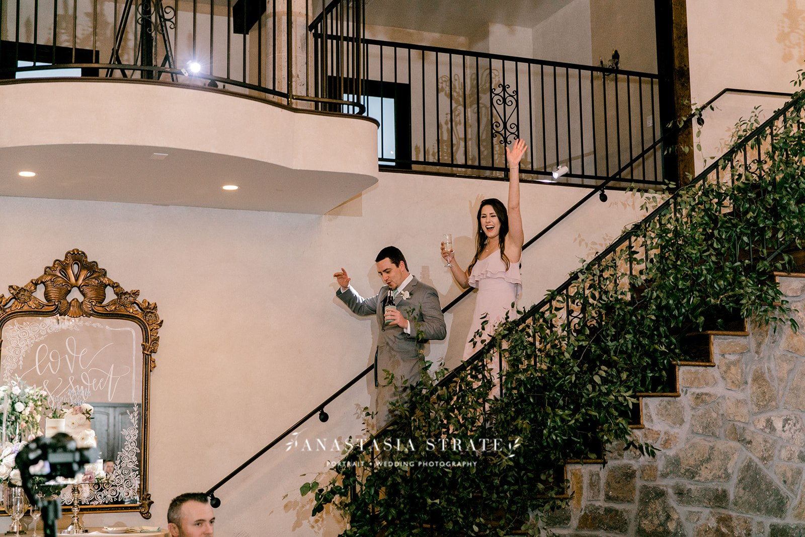 bridal party entrance