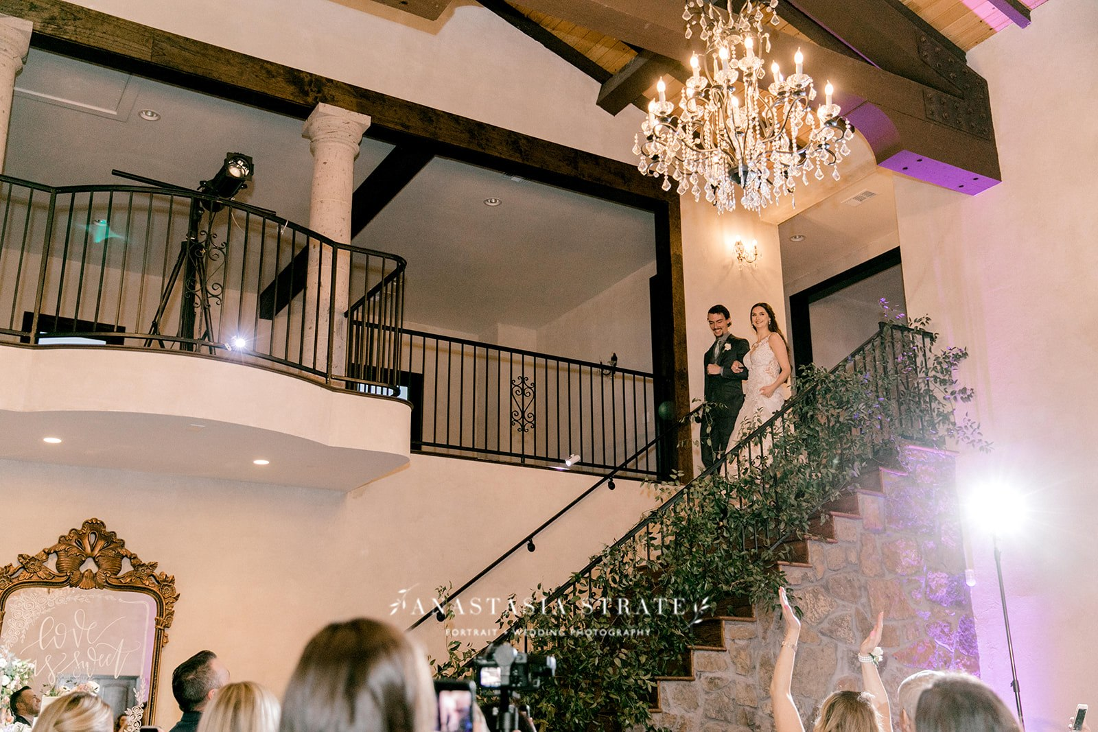 bride and groom's entrance
